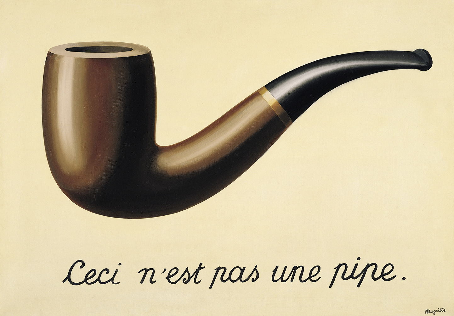 The Treachery of Images by Rene Magritte